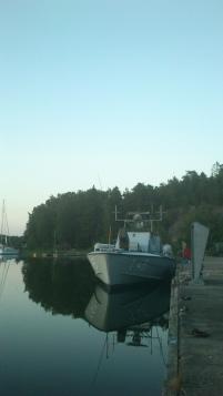 En stilla juniafton på Gålö