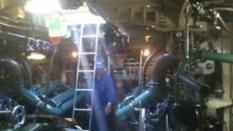 Förberedelser i maskin