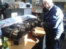 Klas fiffar med cylinderrad nummer 3