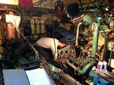 Allt i maskin ska säkras för vintern
