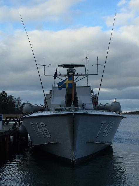 I hamnen på Utö